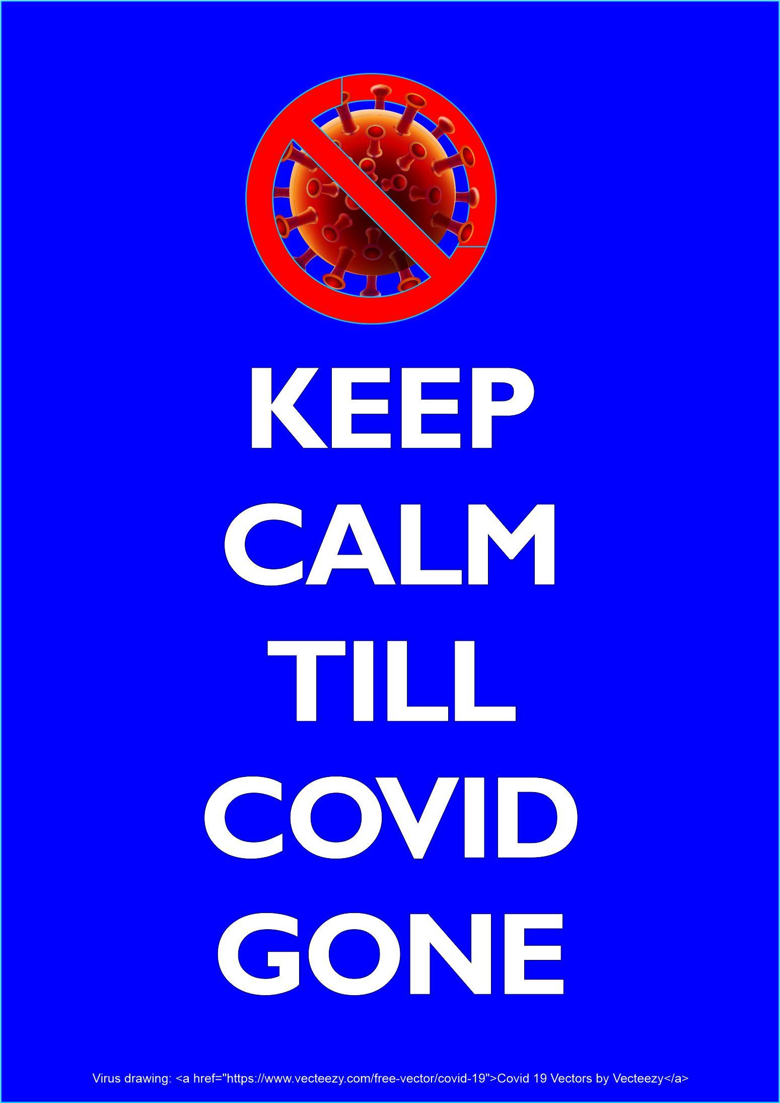 Keep Calm covid